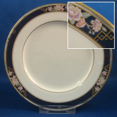 Noritake Imperial Gate dinner, salad and bread & butter plates