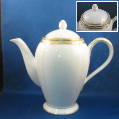 Noritake Contessa coffee pot - Click Image to Close