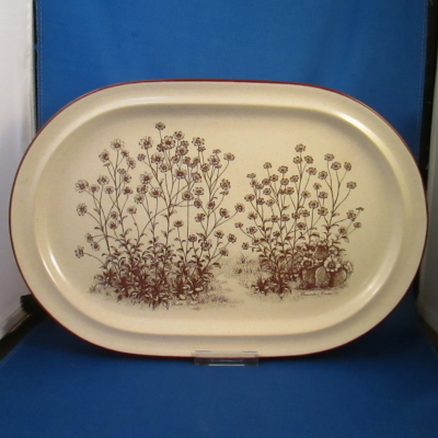 Noritake Desert Flowers medium platter