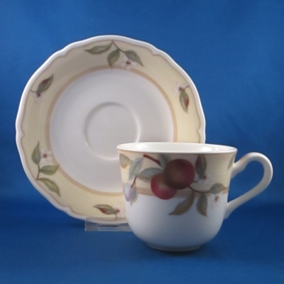 Noritake Fruit Canyon cup & saucer