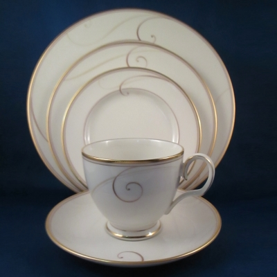 Noritake Golden Wave 5 piece place setting - $0.00 : Hoffman\'s ...