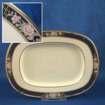 Noritake Imperial Gate butter/relish tray