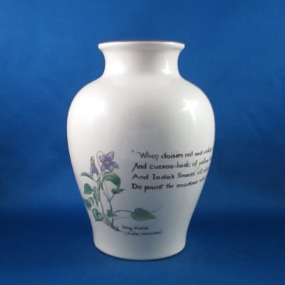 Noritake Country Diary bouquet vase