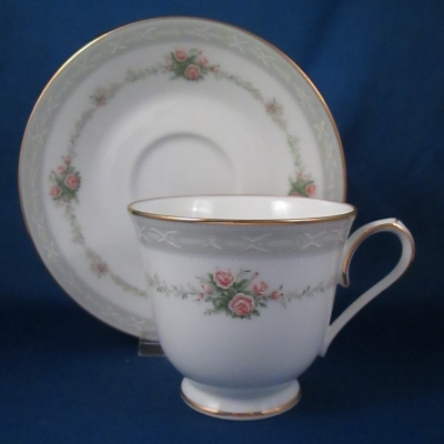 Noritake Love Poem cup and saucer