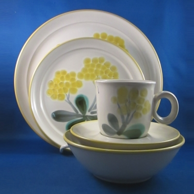 Noritake May Song 5 piece place setting