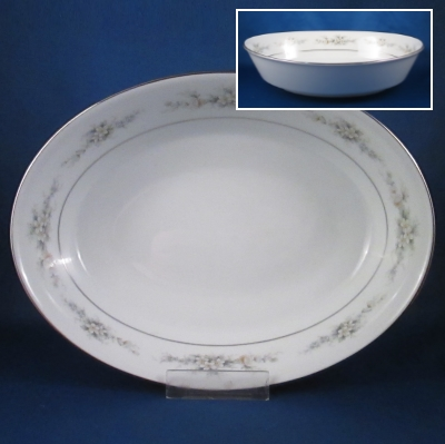 Noritake Melissa oval vegetable bowl