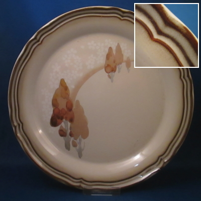 Noritake Mountain View dinner plate