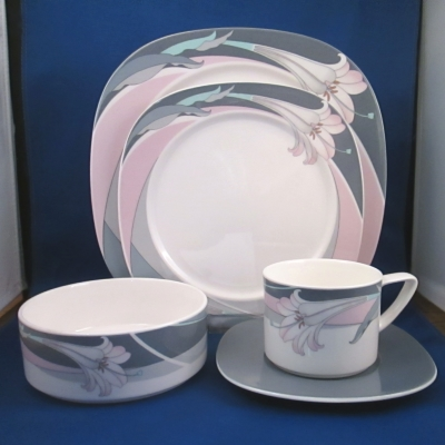 Noritake New Orleans 5 piece place setting