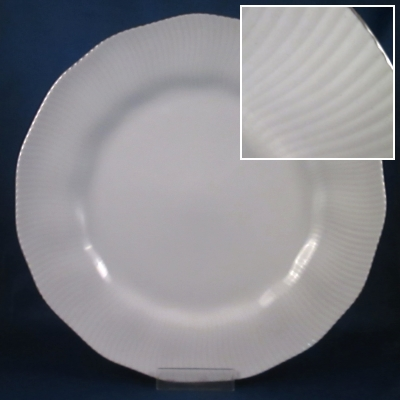 Noritake Pacific Hill Platinum dinner and salad plates