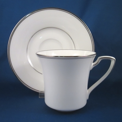 Noritake Platinum Traditions cup & saucer