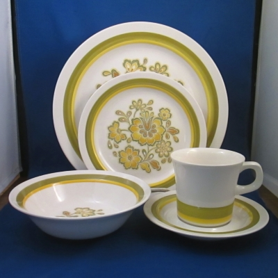 Noritake Rumba 5 piece place setting