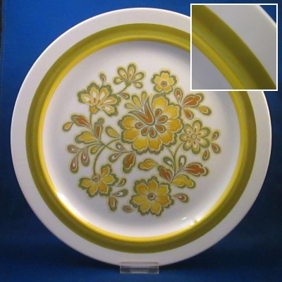 Noritake Rumba dinner plate