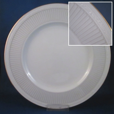 Noritake Sheridan Gold dinner and salad plates