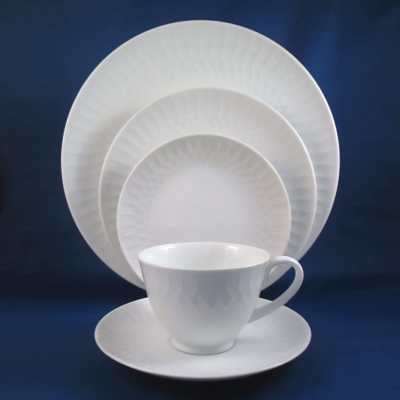 Noritake Snowden 5 piece place setting