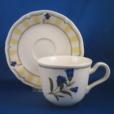 Noritake Summer Estate cup & saucer