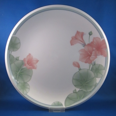 Noritake Summer Rain dinner and salad plates