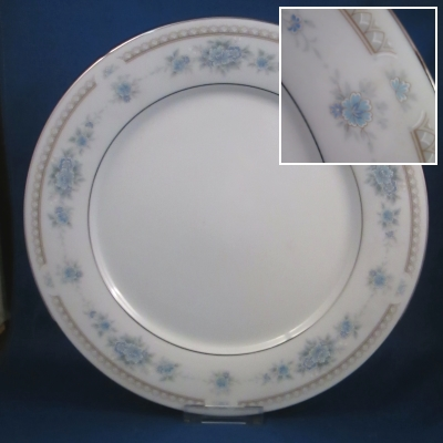 Noritake Sutton Court dinner and salad plates