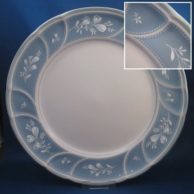 Noritake Victory Blue dinner and salad plates