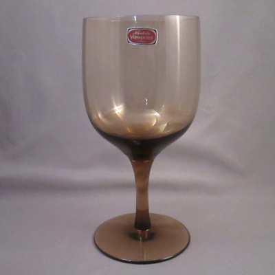 Noritake Viewpoint Brown goblet