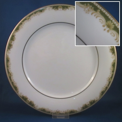 Noritake Warrington dinner plate