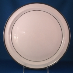 Noritake Odin-Grey dinner and salad plates