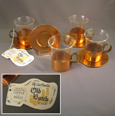Demitasse set - Old Dutch