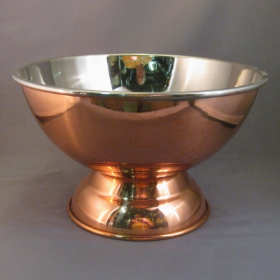 Old Dutch copper footed bowl