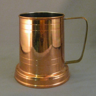 Old Dutch copper mug