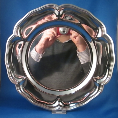 Oneida Carefree Collection stainless round tray