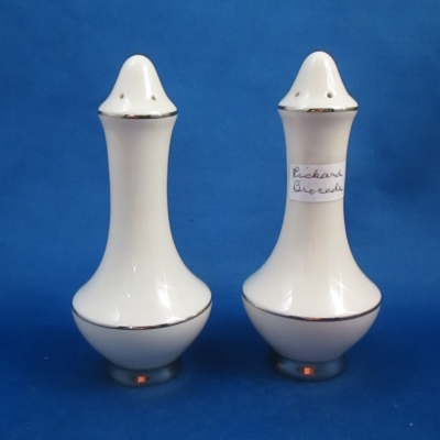 Pickard Brocade salt & pepper