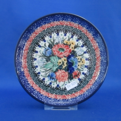 Polish Pottery Unikat bread & butter plate