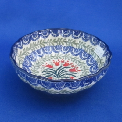 Polish Pottery fruit-dessert bowl
