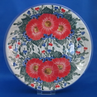 Polish Pottery Unikat Andy dinner plate