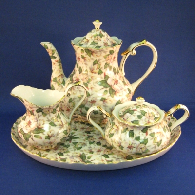 Magnolia 6 pc tea set - Popular Creations