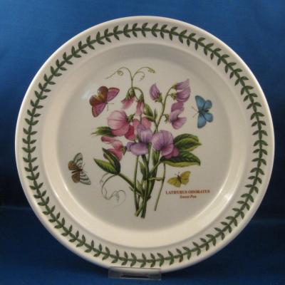 Portmeirion Botanic Garden Dinner Plate   Sweet Pea