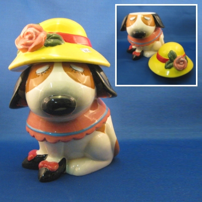 Dog cookie jar--Ranger International