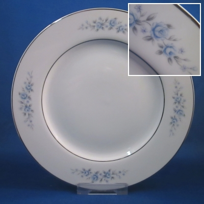 Rose China Charm salad plate