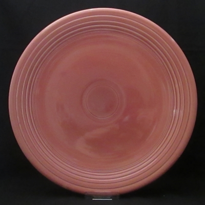 Homer Laughlin Fiesta Rose Older Chop Plate (round platter)