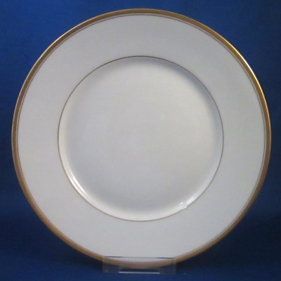 Rosenthal 1133 (Gold & White) salad plate