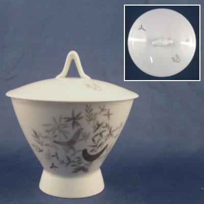 Rosenthal Birds on Trees sugar bowl with lid