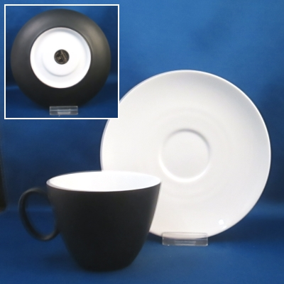 Rosenthal Charcoal cup & saucer