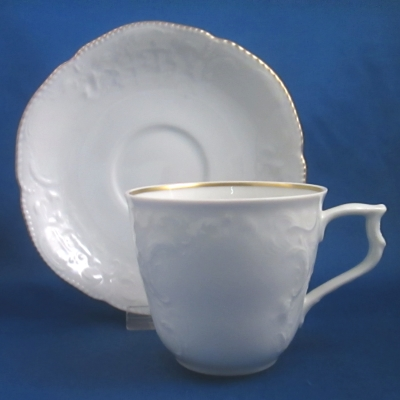 Rosenthal Gold Band-White (Sanssouci) cup & saucer