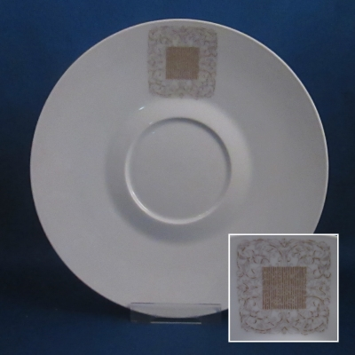 Rosenthal Lace Antique cream soup saucer