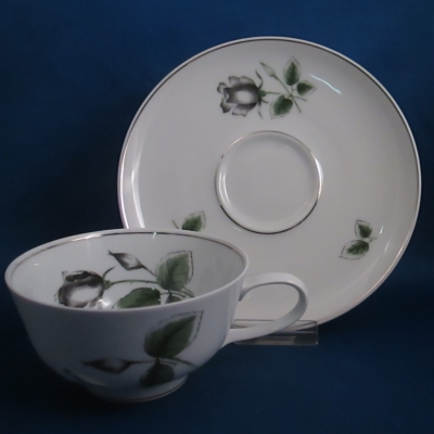 Rosenthal Midnight Rose cup and saucer