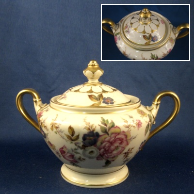 Rosenthal The Sunray sugar bowl with lid