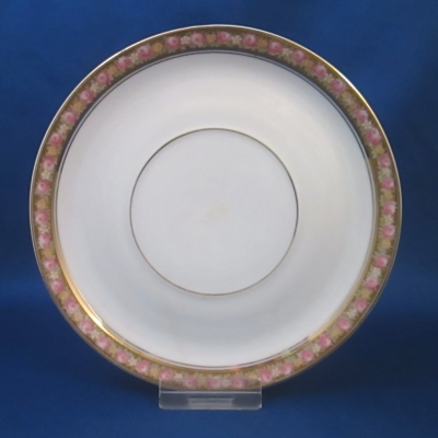 Rosenthal Unknown 4 (rose border) saucer