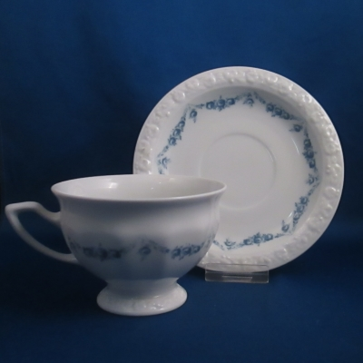 Rosenthal Blue Garland cup and saucer
