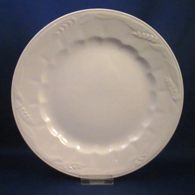 Royal Crownford Wheat-Cream White salad plate