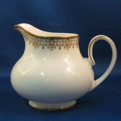 Royal Doulton Gold Lace creamer