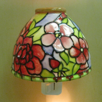 Ceramic Floral Nightlight - Camellia - Russ